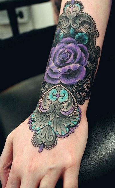 This would be awesome for my dark side sleeve. | Lace ...