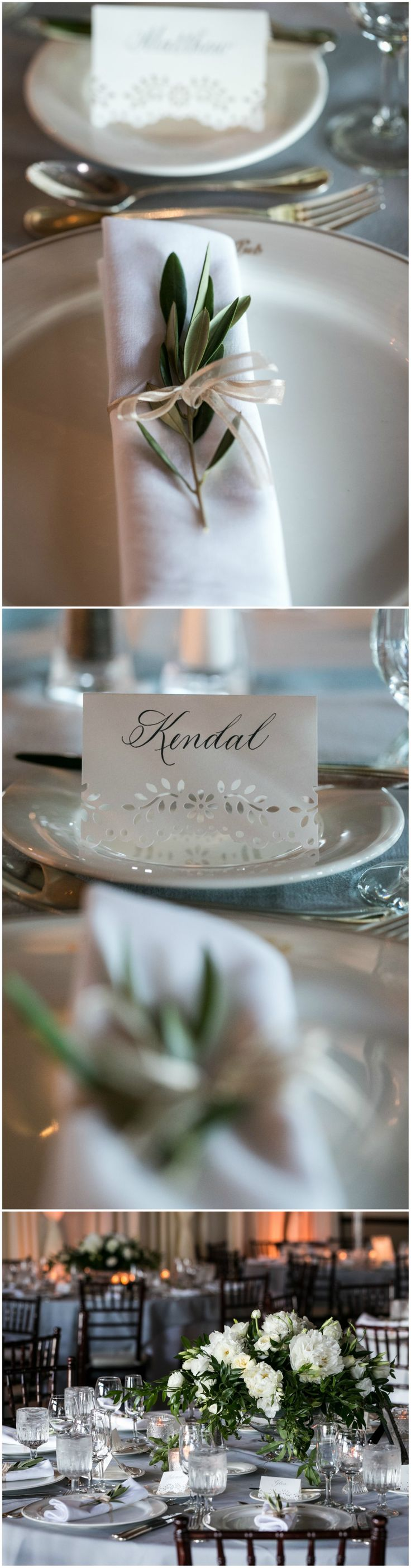 Elegant simple wedding placesettings wedding tablescape ideas