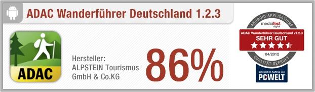 """App-Test: ADAC Wanderführer Deutschland - Die App """"ADAC Wanderführer Deutschland"""" bietet über 6.000 Touren für Wanderer in Deutschland. Der Naturfreund bekommt zu jeder Tour eine Wegekarte und Informationen wie Schwierigkeitsgrad und Dauer. Weitere Infos auf unserem Portal: http://www.apptesting.de/"""