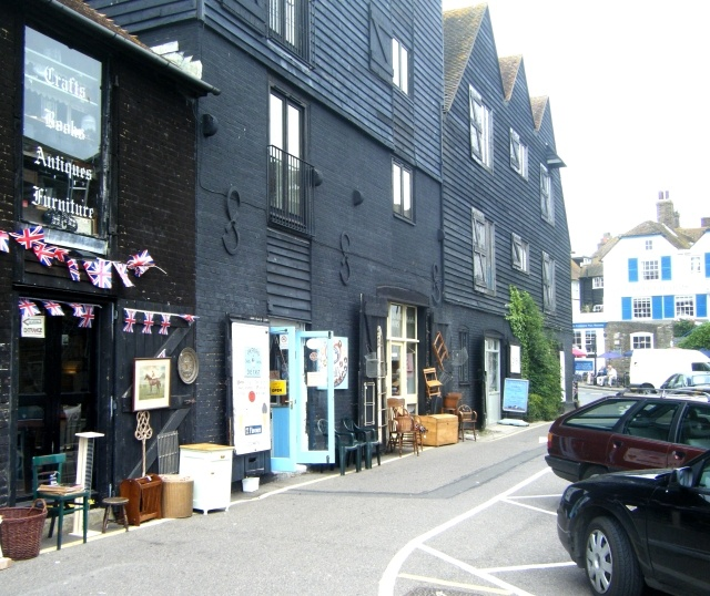 Favourite Sunday afternoon destination - the Antique stores in Rye, East Sussex
