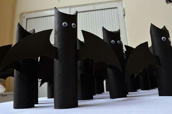 Souvenir cumpleaños #Halloween murciélago con dulces