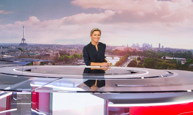France 2 Set Design (plateau) gallery