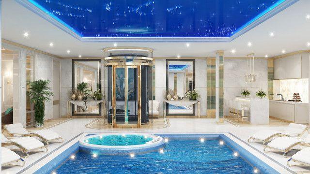 Best Pool Interior Dubai Luxury Rooms Cool Pools Pool