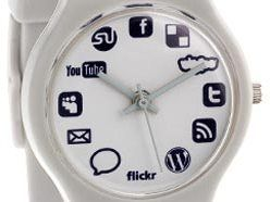 Now, the social networking watch arrives | Spending time on social networking sites is becoming so pervasive even tedious old codgers on the BBC now give out their Twitter and Facebook i.d.s, but how do they remember when to tweet and when to Plurk? Buying advice from the leading technology site