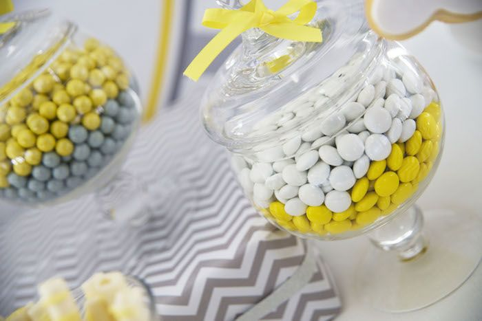 Grey Elephant themed baby shower via Kara's Party Ideas KarasPartyIdeas.com Printables, cake, decor, tutorials, recipes, cupcakes, favors, and more! #elephantparty #greyelephant #elephantbabyshower #karaspartyideas (10)