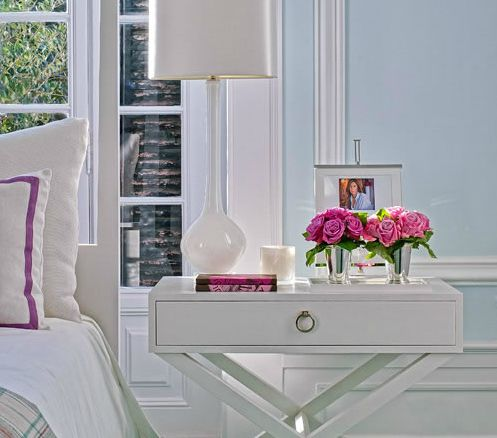 side table <3: Decor, Interior, Guest Bedroom, Bedside Tables, Bedrooms, Master Bedroom, Night Stand, Bedroom Ideas