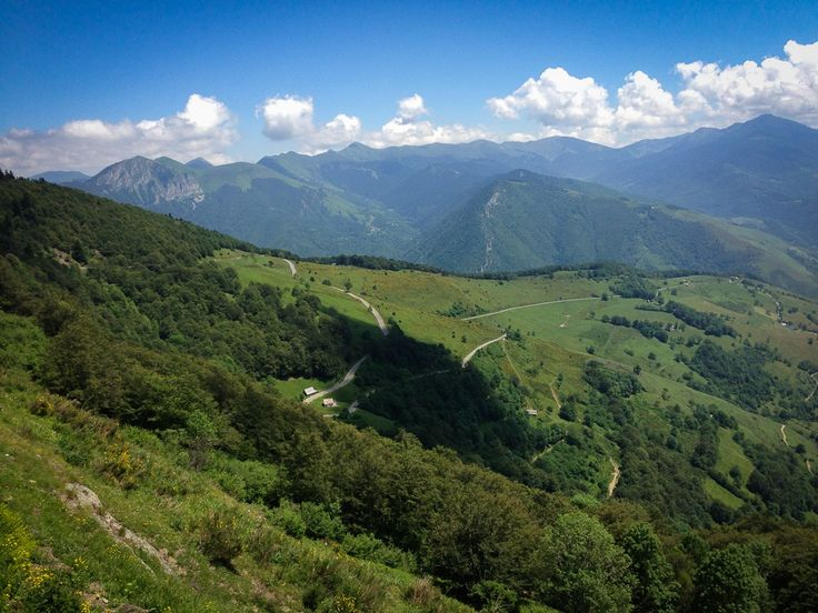 View from the Col d'Aspin.