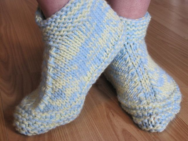 578 Best Knitted Socks And Slippers Images On Pinterest Knitting