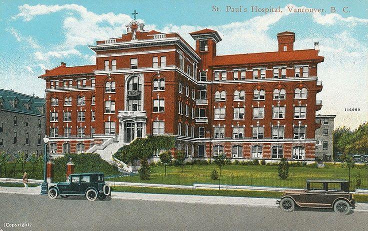 St. Paul's Hospital, c.1925