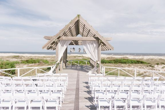 Southern Destination Wedding at The Shoals Club at Bald Head ...
