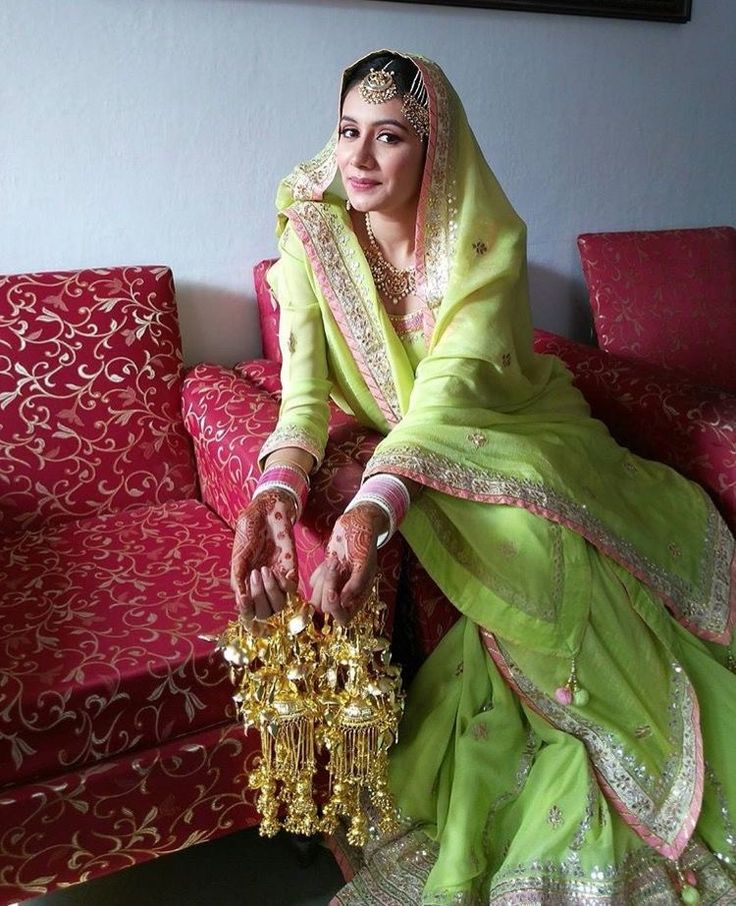 ... Chooda and Kalirey on Pinterest | Punjabi bride, Punjabi wedding and
