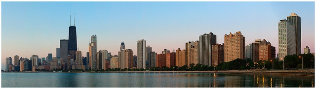 Lighting the Windy City by eric lee pearson, via Flickr