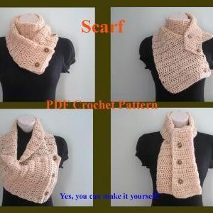 Crochet Pattern - Scarf