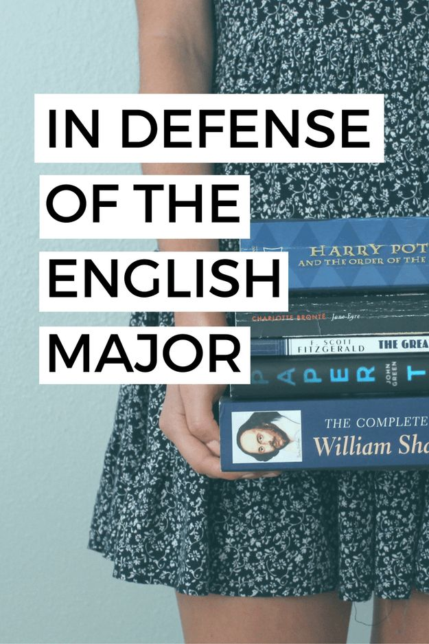 Ever wondered why the English Major gets such a bad rep? Here are some of the reasons why you should consider studying English in college!