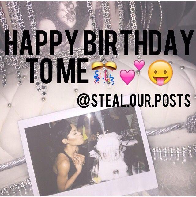 its my birthday finally
