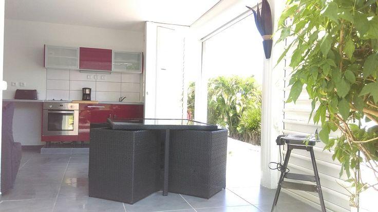 Location vacances appartement Saint-François: Rez de Villa