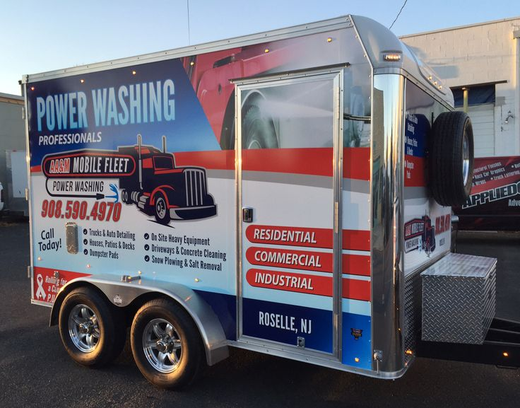 Full Wraps Truck and trailer, Car wrap, Pressure washing