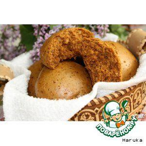 Медовые пряники с грецкими орехами на пару - кулинарный рецепт