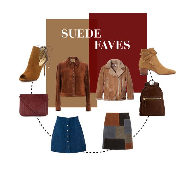 SUEDE FAVES by lauraaugustinus on Polyvore featuring Acne Studios, MiH Jeans, Alexandre Birman, Yves Saint Laurent, Jigsaw and Tom Ford