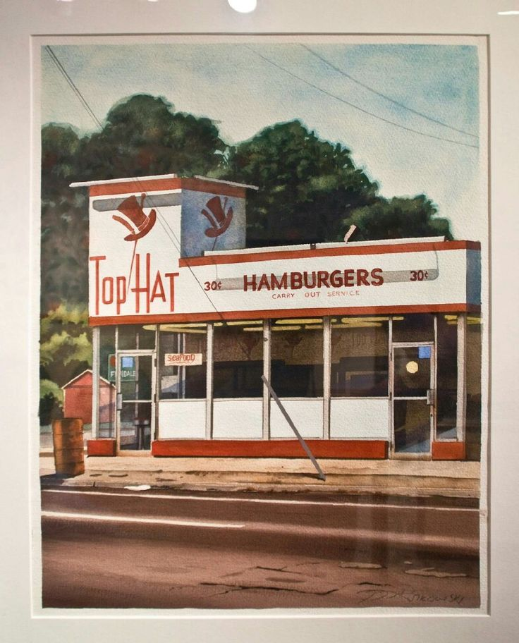 Anyone Remember Top Hat Hamburgers, In Detroit? They Were Like White Castle.