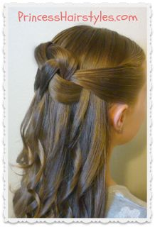 Sensational 1000 Images About Fancy Updos For Girls On Pinterest Cute Girls Short Hairstyles Gunalazisus
