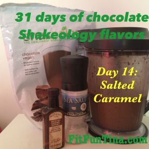 31 Days of Chocolate Shakeology Flavors! There's such variety and versatility! For more ideas, head to www.FitFunTina.com.