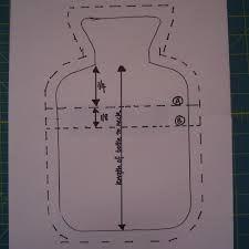 como fazer capa para bolsa de agua quente - Pesquisa Google