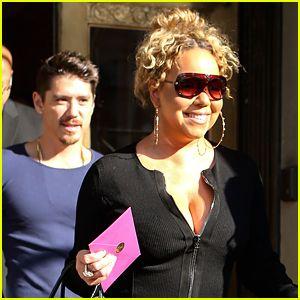 Mariah Carey & Novio Bryan Tanaka son Todo Sonrisas en NYC