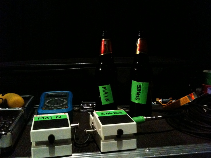 Beer and backline