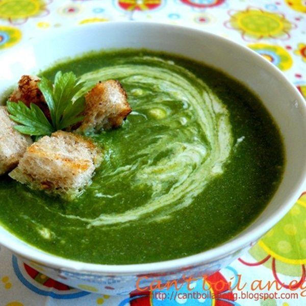Supa-crema de spanac