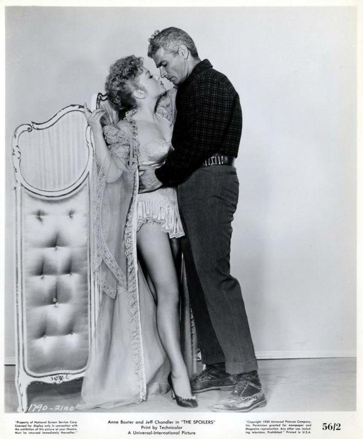1956 movie stills Belgian   ... 1955 PG Rory Calhoun Jeff Chandler Anne Baxter 793x960 Movie-index.com