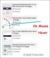 Automatic Scrolling Recent Post Gadget For Blogger. Don't forget to add this gadget on your blog