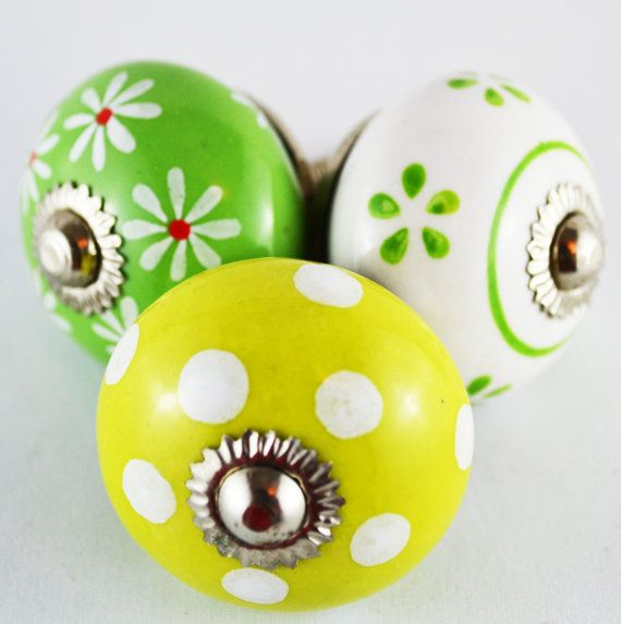 Check out this item in my Etsy shop https://www.etsy.com/ca/listing/262342846/vintage-style-ceramic-knobs-coat-rack
