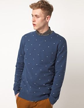 WESC Embroidered Sweatshirt