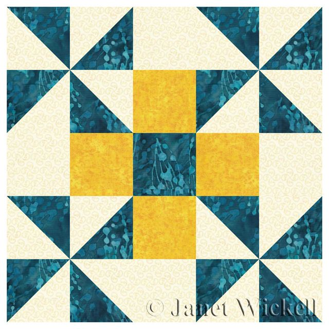 Learn How to Make an Easy Five-Patch Quilt Block with Pinwheels: Sew Grandma's Favorite Quilt Blocks