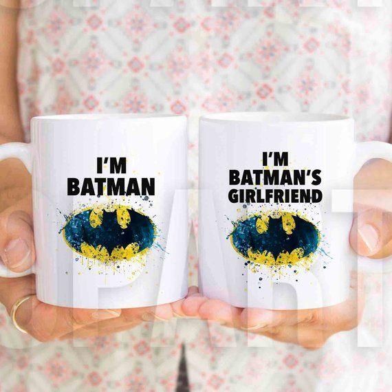 "Gift for girlfriend, gift for boyfriend birthda MU699. ""I'm Batman"" Gift for girlfriend, gift for boyfriend birthda MU699"