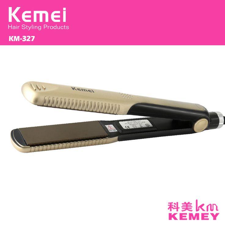 Z044 profesyonel seramik düz ütü doğrultma Demir saç düzleştirici pranchas de cabelo chapinha kıvırma şekillendirme araçları