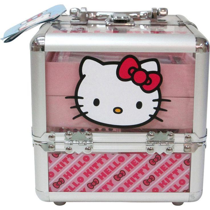 Чемодан с косметикой hello kitty купить зайти эйвон