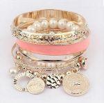 Multi layer bracelet and bangles set  http://finishingtouchaccessories.com.au/