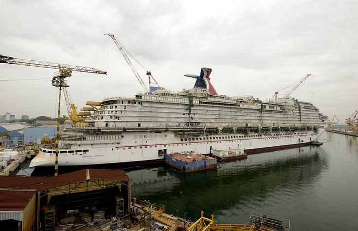 Carnival Cruise Line has released several photos from the shipyard of their next cruise ship, Carnival Horizon. The 133,500 gross ton cruise ship will be the largest ship in Carnival's fleet when she debuts next spring. Carnival Horizon will be the 26th cruise ship in Carnival's fleet and will carry 3,934 passengers. The ship will …