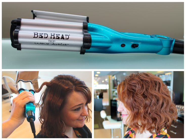 Day 93 wave artist by bed head hair crimper hair waver