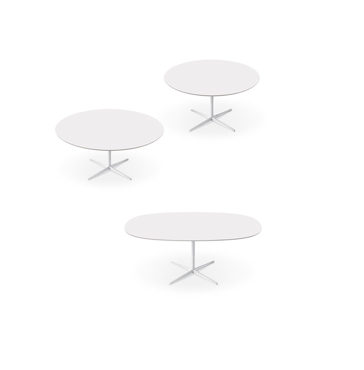 Eolo tables by Arper, designer Lievore Altherr Molina