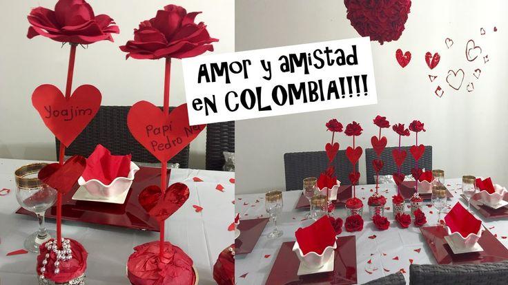 AMOR Y AMISTAD en COLOMBIA (san VAlentin)  valentines day of love. Mi de...