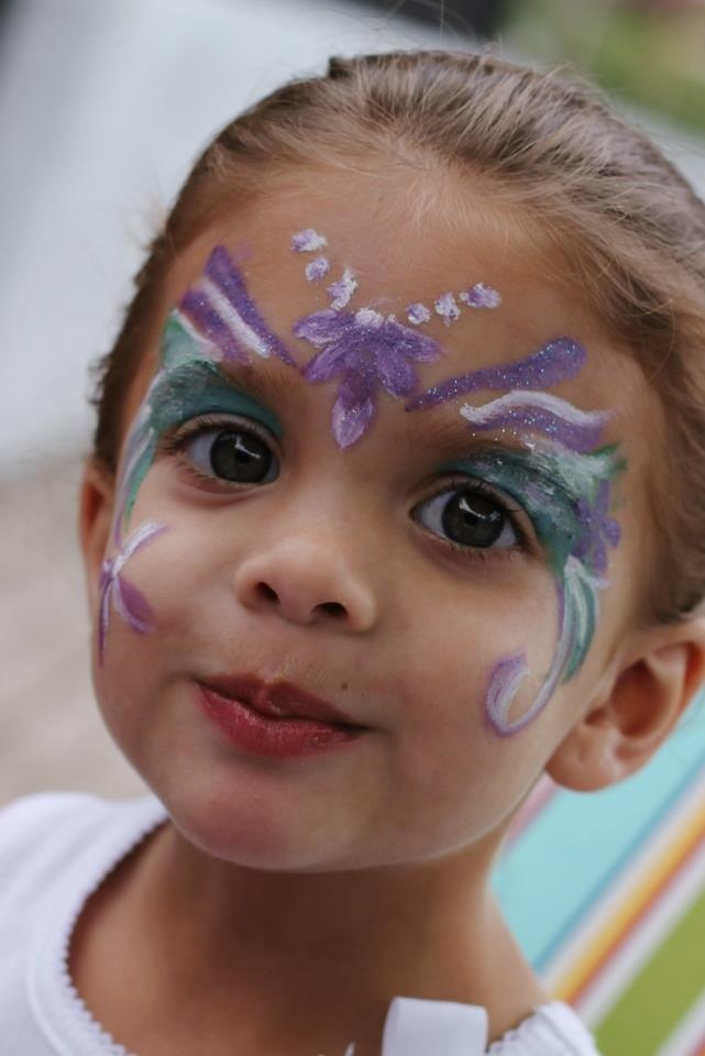 34 best images about face painting on pinterest pirate for Fairy painting easy