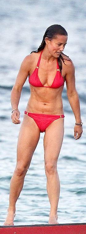 Who made Pippa Middleton's red bikini?