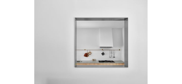 Monash Rd House, Tarragindi, Zuzana&Nicholas Architects, Brisbane House Renovation, Kitchen and Bathroom, Concrete Benchtops, Timber Cabinetry, Brass Kitchen Rail
