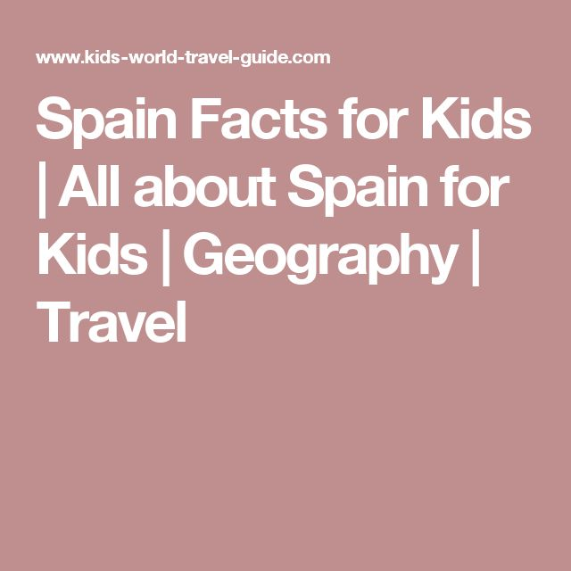 Spain Facts for Kids | All about Spain for Kids | Geography | Travel