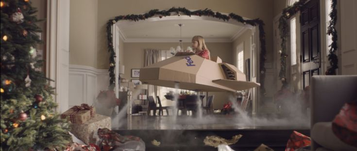 Fedex gift box by bbdo ny creative works the drum