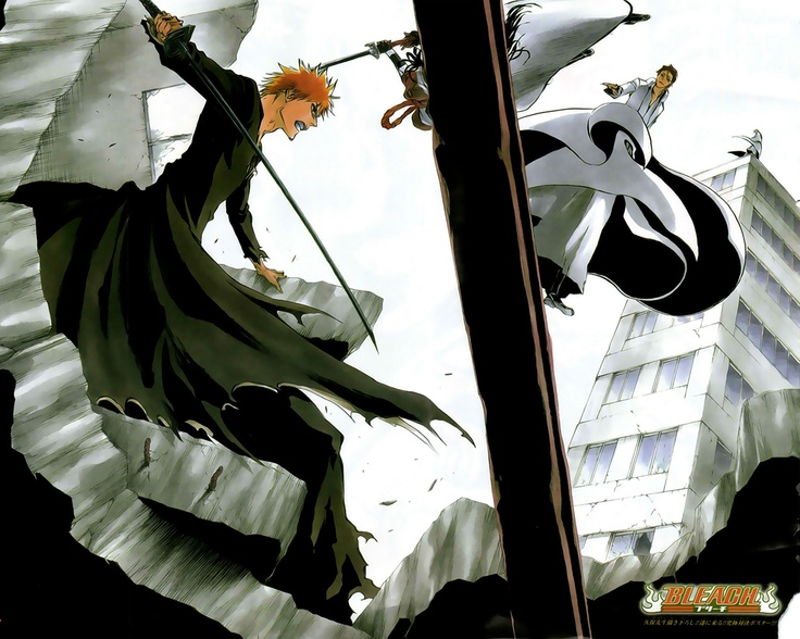 Ichigo vs. Aizen from Bleach.The highly anticipated fight.After 300 something episodes, and fillers (Zanpakuto filler is the best) this is honestly what everyone has been tuning in or watching online.The moment...(Drumrolling) I won't spoil it.Tune in and watch,promise it's worth it!