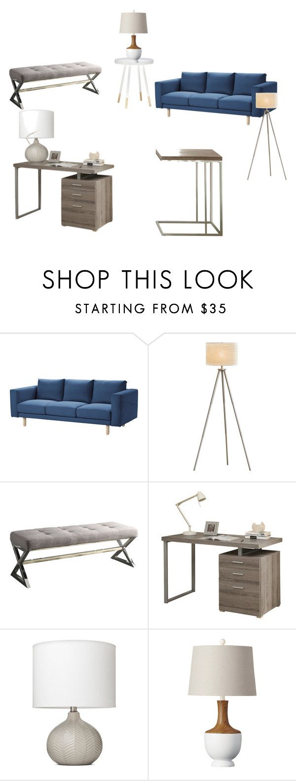 Threshold home decor shop for threshold home decor on polyvore -  Office Look 4 By Jessicacrain On Polyvore Featuring Interior Interiors Interior Design Office Looksoffice Decorhome
